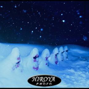 福島県観光物産交流協会賞「厳冬の六地蔵」