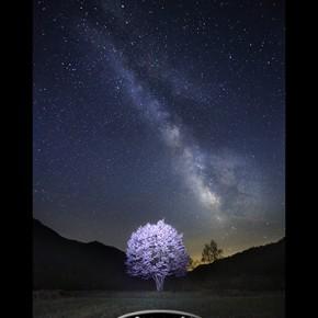 依嘱の部 福島県写真連盟特別賞「満天の夜」